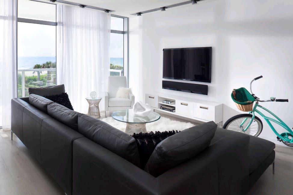 tủ TV trắng đơn giản nhưng đẹp