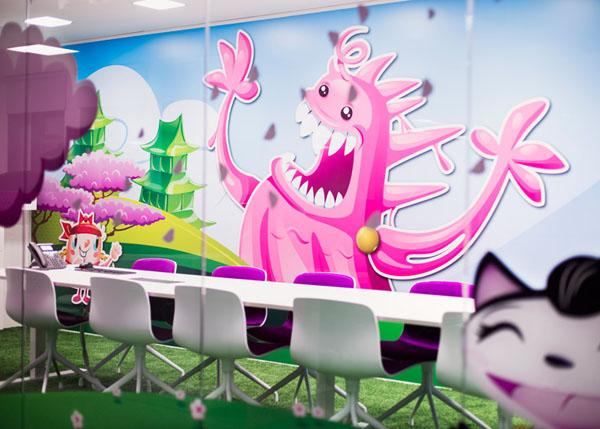 Văn phòng Candy Crush