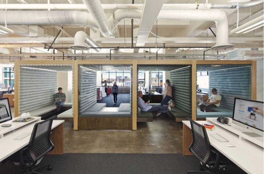10 thiết kế văn phòng startup thú vị