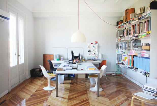 thiết kế phòng làm việc của các nhà kiến trúc