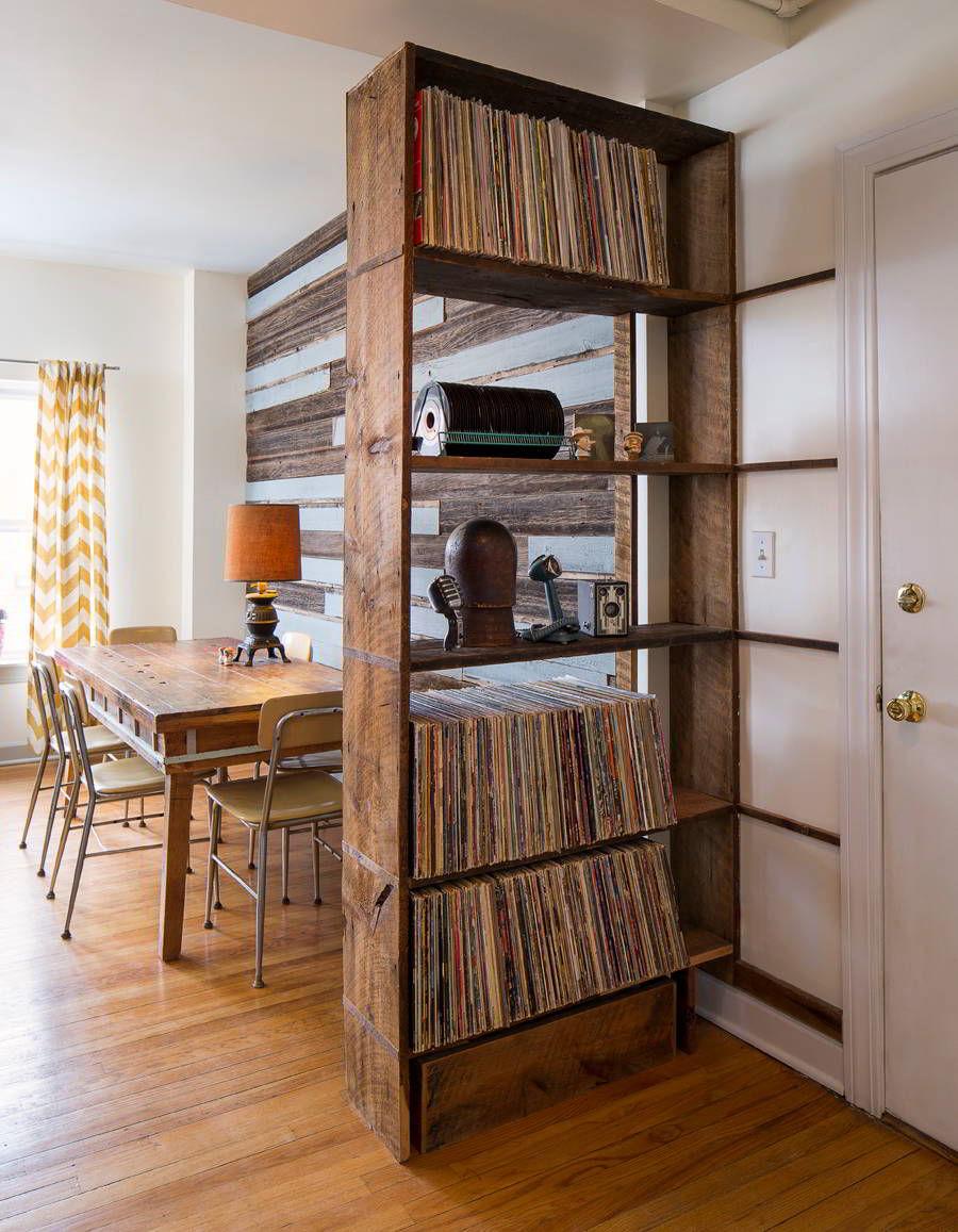 kệ sách đơn giản bằng gỗ tự nhiên