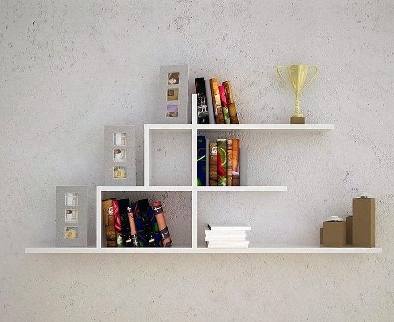 kệ sách đơn giản treo tường