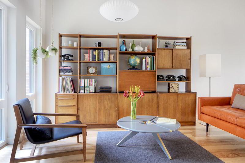 tủ sách hiện đại bằng gỗ