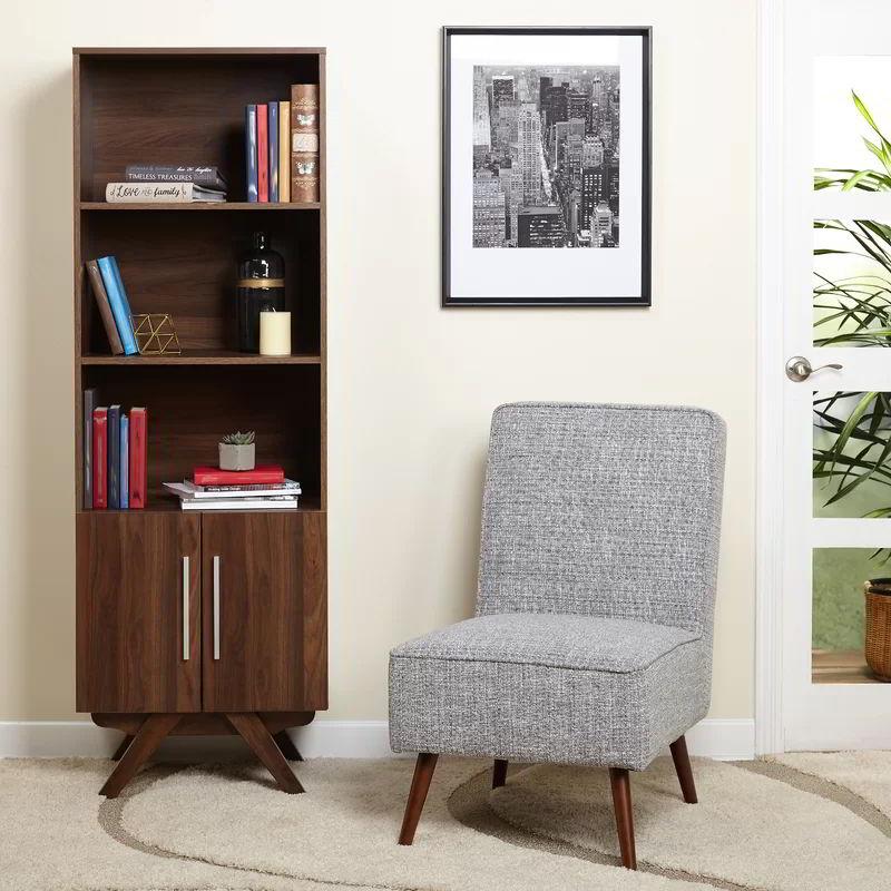 tủ kệ sách đơn giản phòng khách