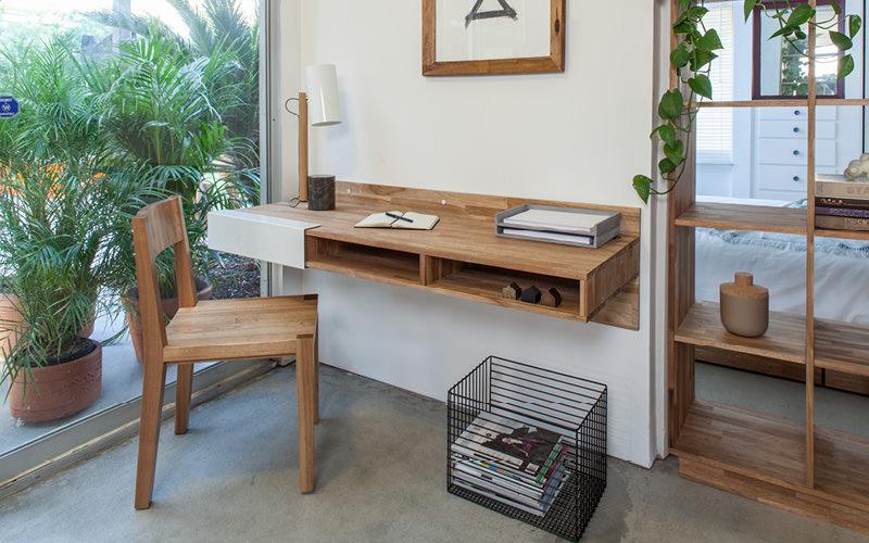 bàn treo tường gỗ