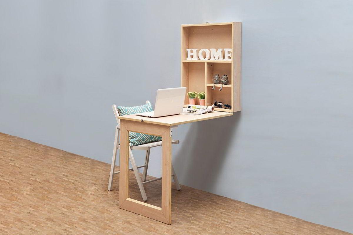 bàn gỗ treo tường gấp gọn