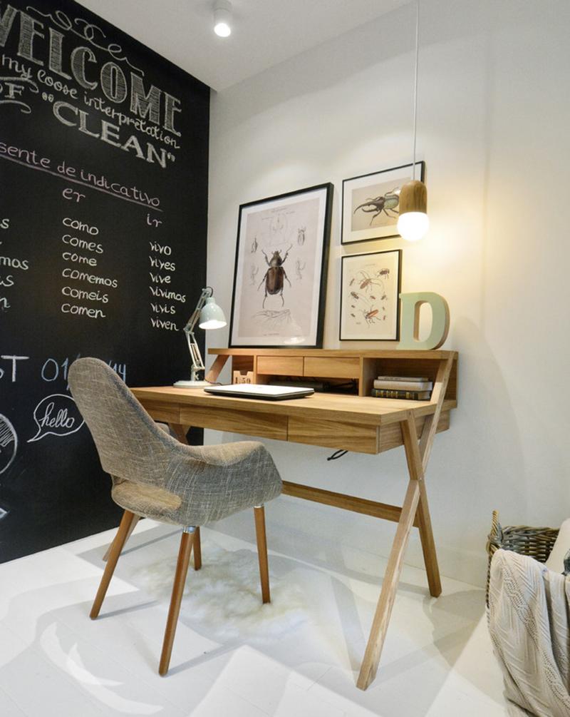bàn gỗ học tập sáng tạo