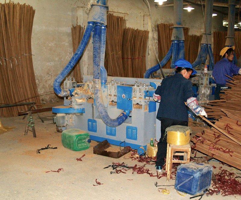 Quy trình sản xuất gỗ nan tre