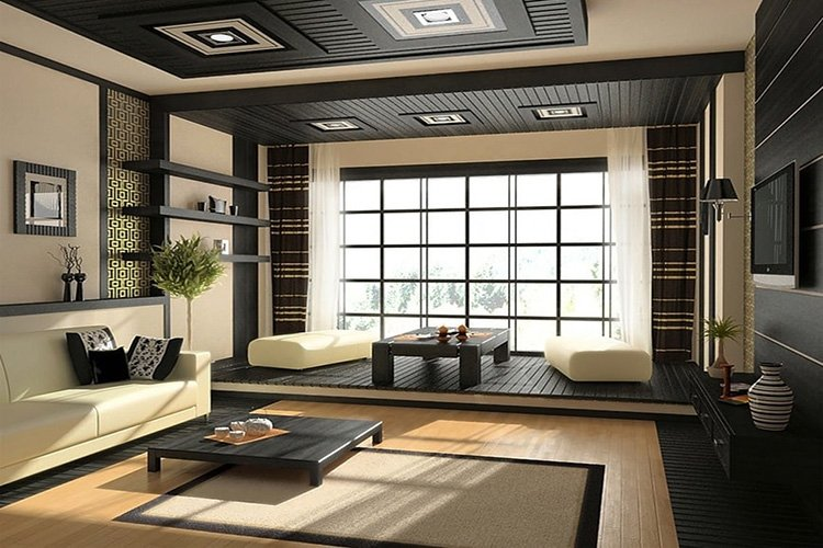 Ánh sáng trong nội thất Á Đông