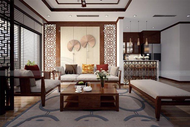 Phong cách Á Đông hiện đại