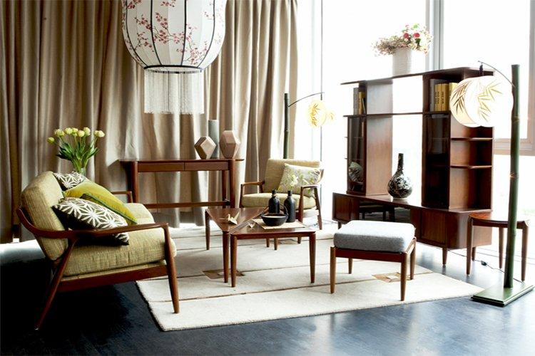 Sắp xếp không gian trong nội thất Á Đông