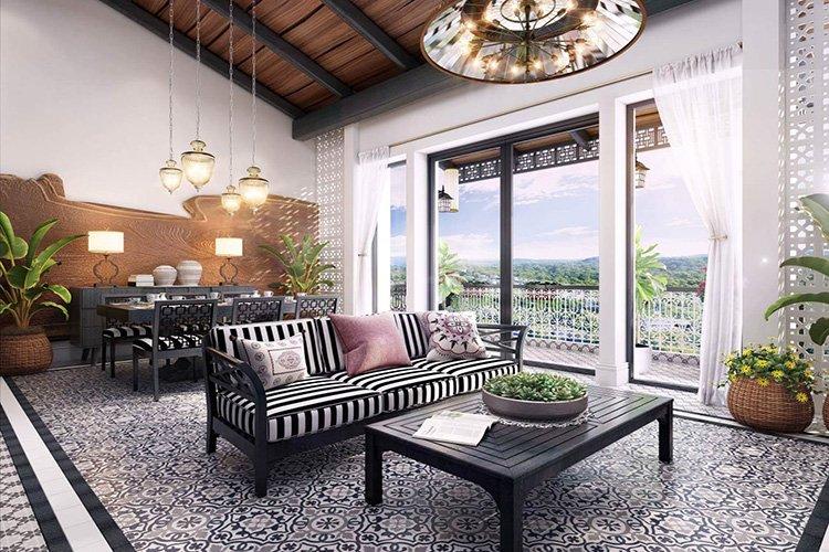 Phong cách nội thất Đông Dương đẹp