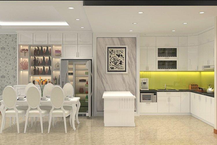 Nhà bếp phong cách nội thất hiện đại