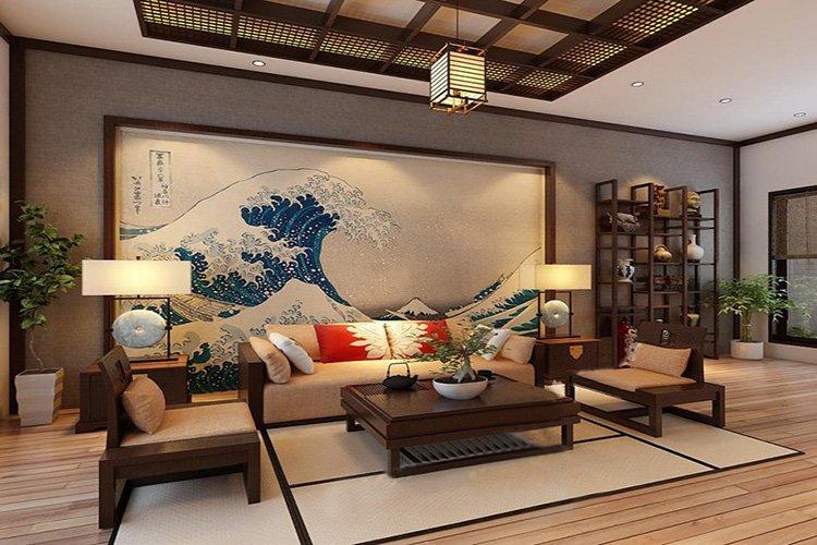phong cách nội thất Nhật Bản hiện đại