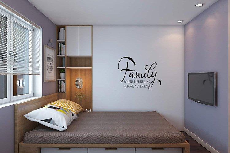 Trang trí phòng ngủ tối ưu