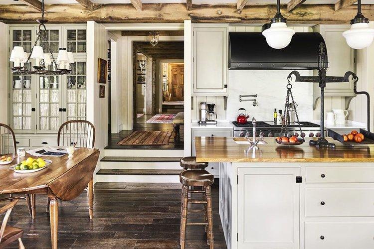 Trang trí bếp trong phong cách nội thất Rustic