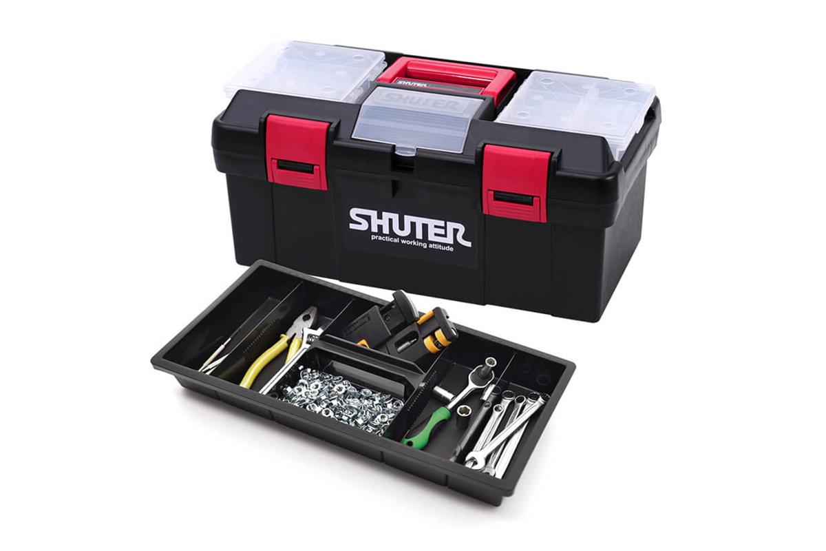 Hộp đụng dụng cụ đồ nghề làm mộc Shuter TB-905