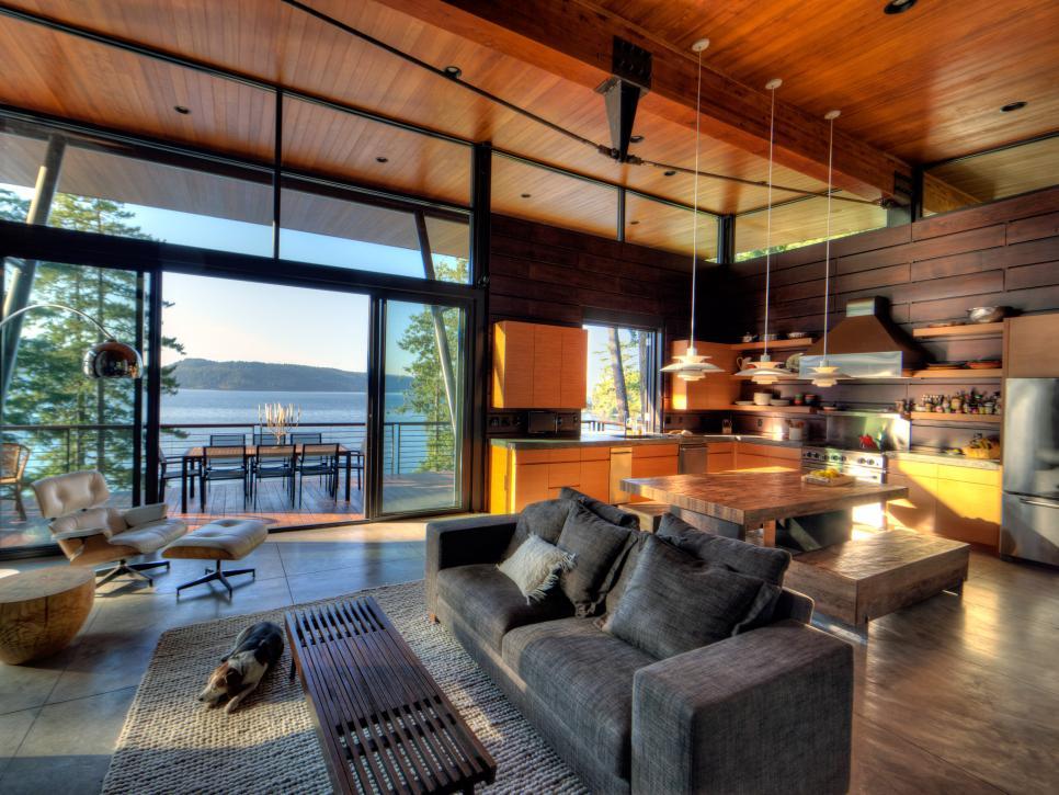 25 m u thi t k n i th t ph ng kh ch li n b p tuy t p. Black Bedroom Furniture Sets. Home Design Ideas