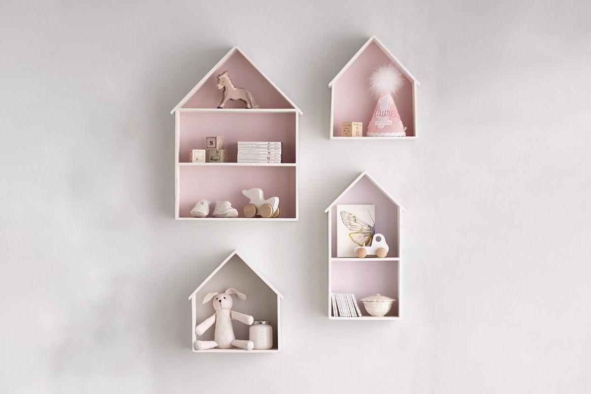 kệ gỗ hình ngồi nhà nhỏ