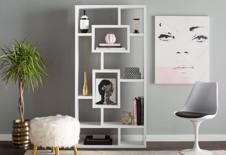 Kệ trang trí phòng khách đơn giản