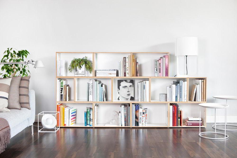 Kệ sách trang trí đơn giản