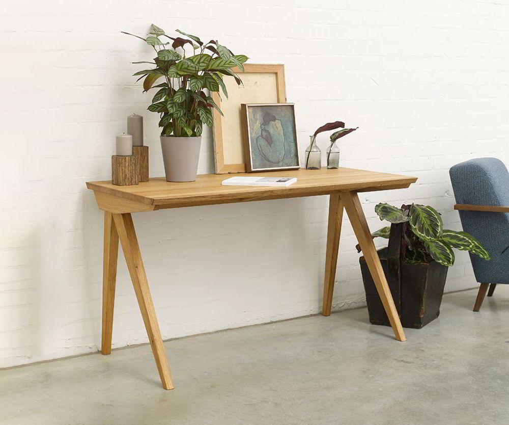 bàn làm việc bằng gỗ tự nhiên đẹp