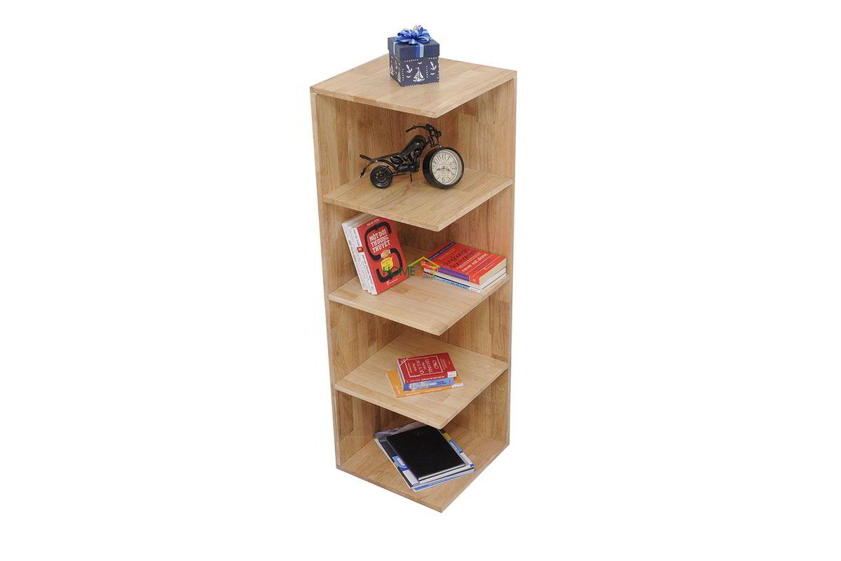 Kệ gỗ đơn giản để góc tường Home Office
