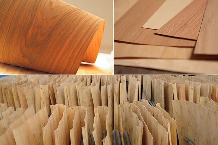 Bề mặt veneer gỗ công nghiệp