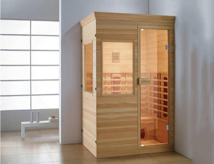 phòng xông hơi gỗ thông