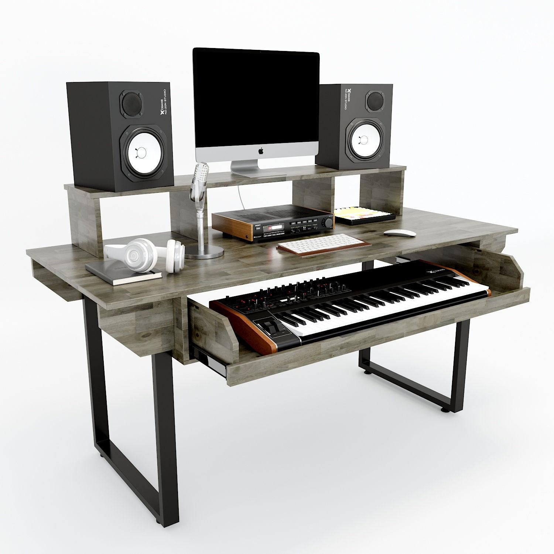 Bàn phòng thu StudioDesk kích thước vừa kiểu dáng đơn giản hiện đại