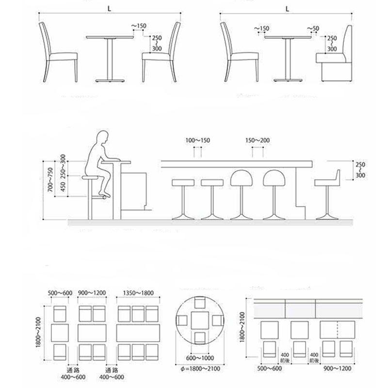 kích thước ghế ăn