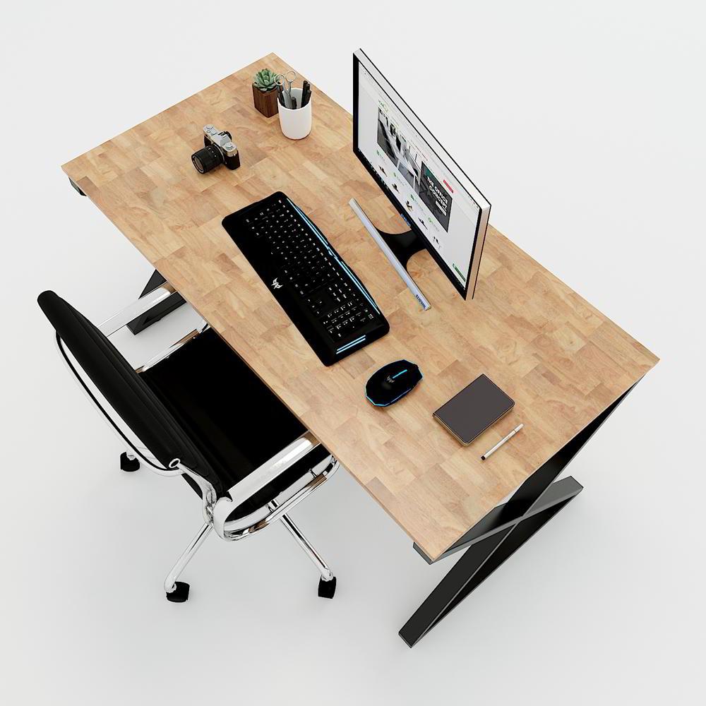 Bàn văn phòng 70x140cm hệ chân chữ X