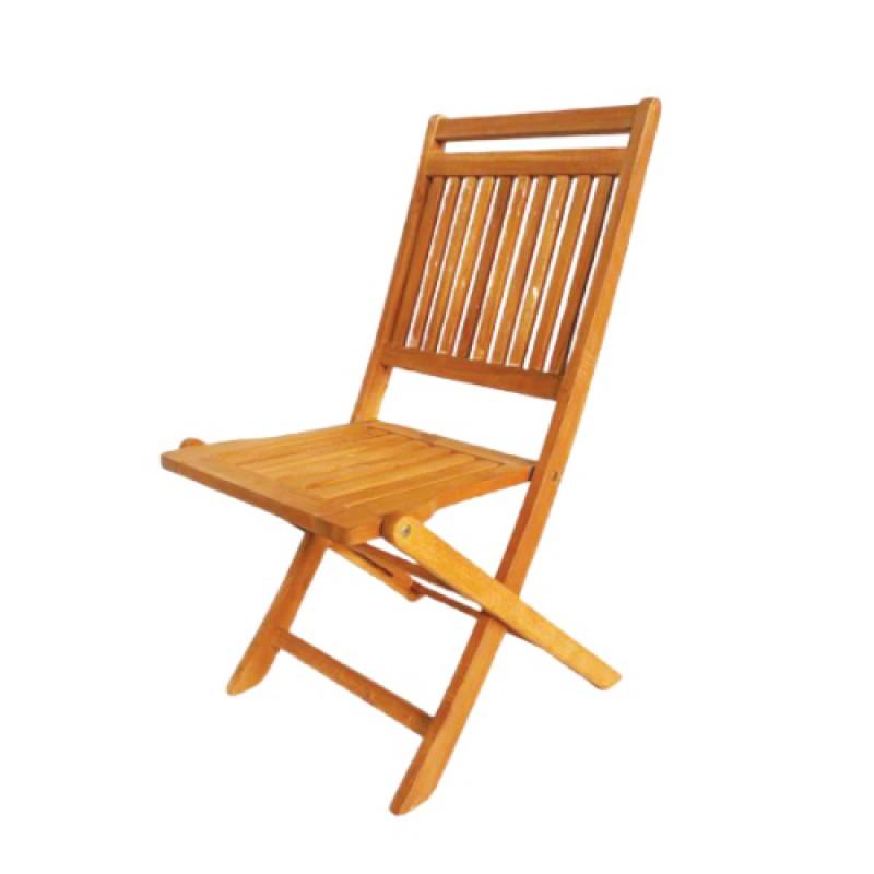 Mầu ghế cafe xếp gọn bằng gỗ