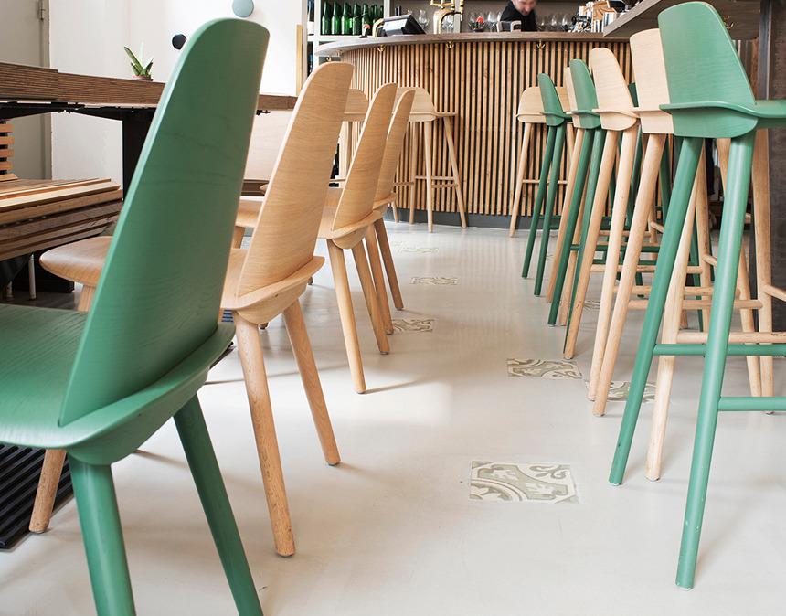 Ghế cafe muuto