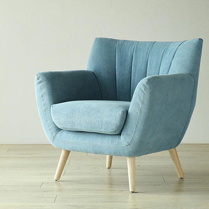 Ghế Sofa đơn cho nội thất cafe