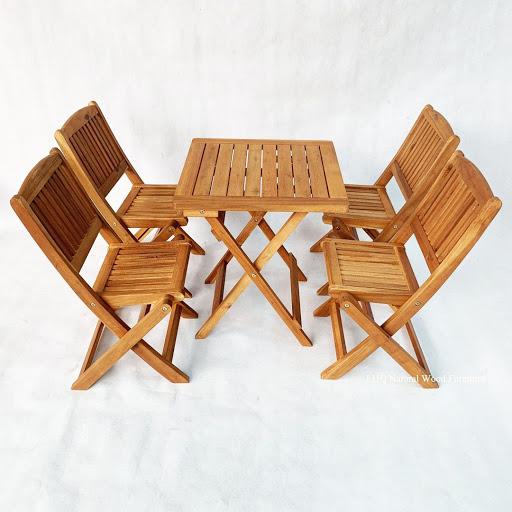 Ghế Cafe gỗ có thể gấp gọn