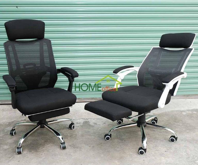 Mẫu ghế văn phòng có ngả nằm và gác chân