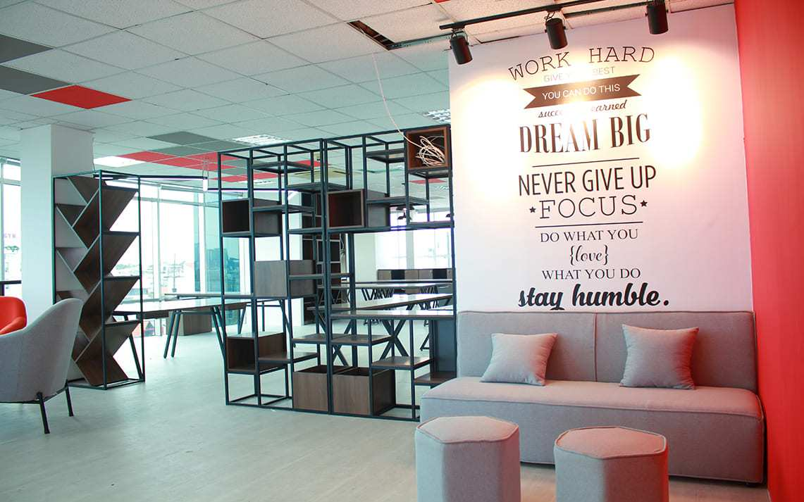 office design in Ho Chi Minh