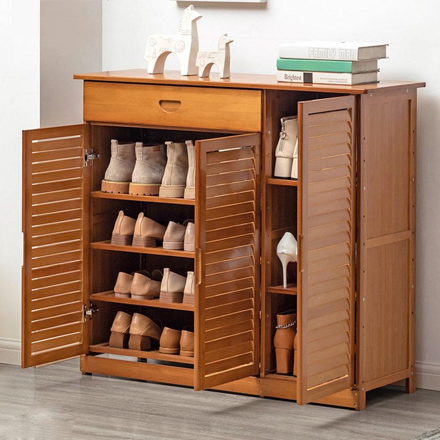 tủ để giày gỗ