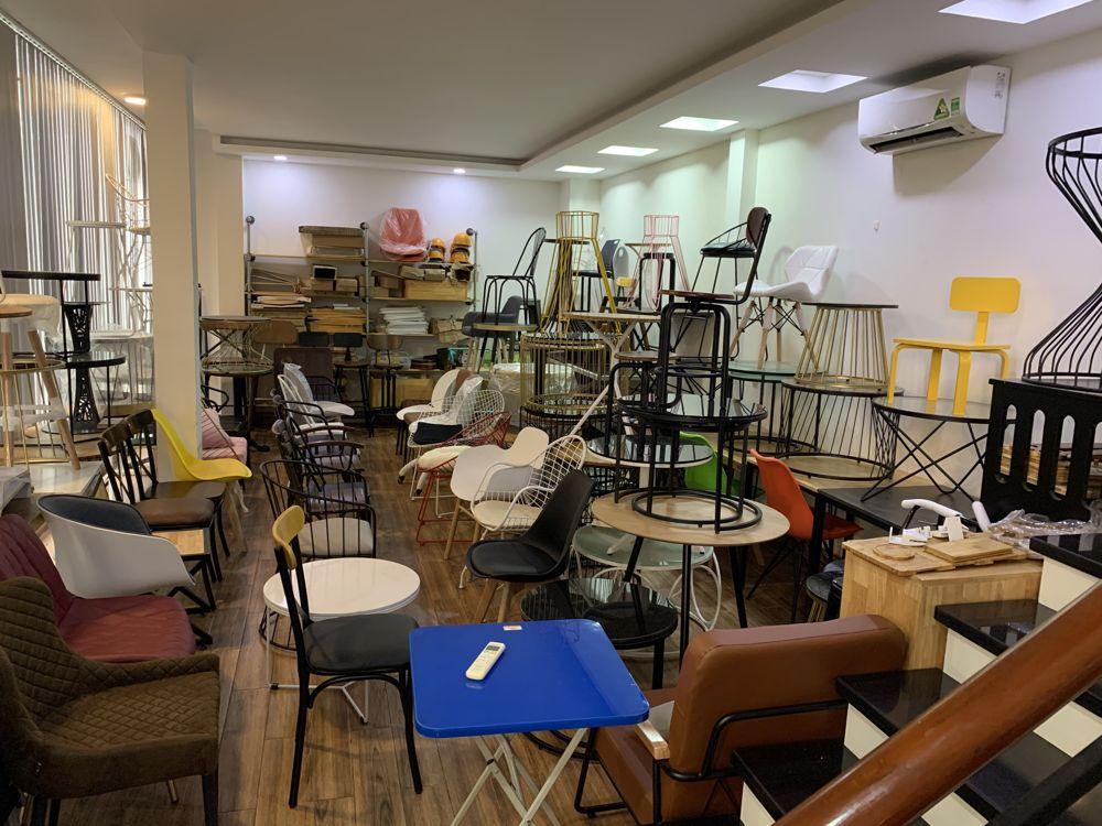 Khu vực bàn ghế Cafe các loại