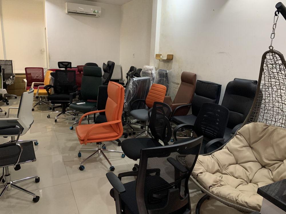 Khu vực ghế văn phòng các loại