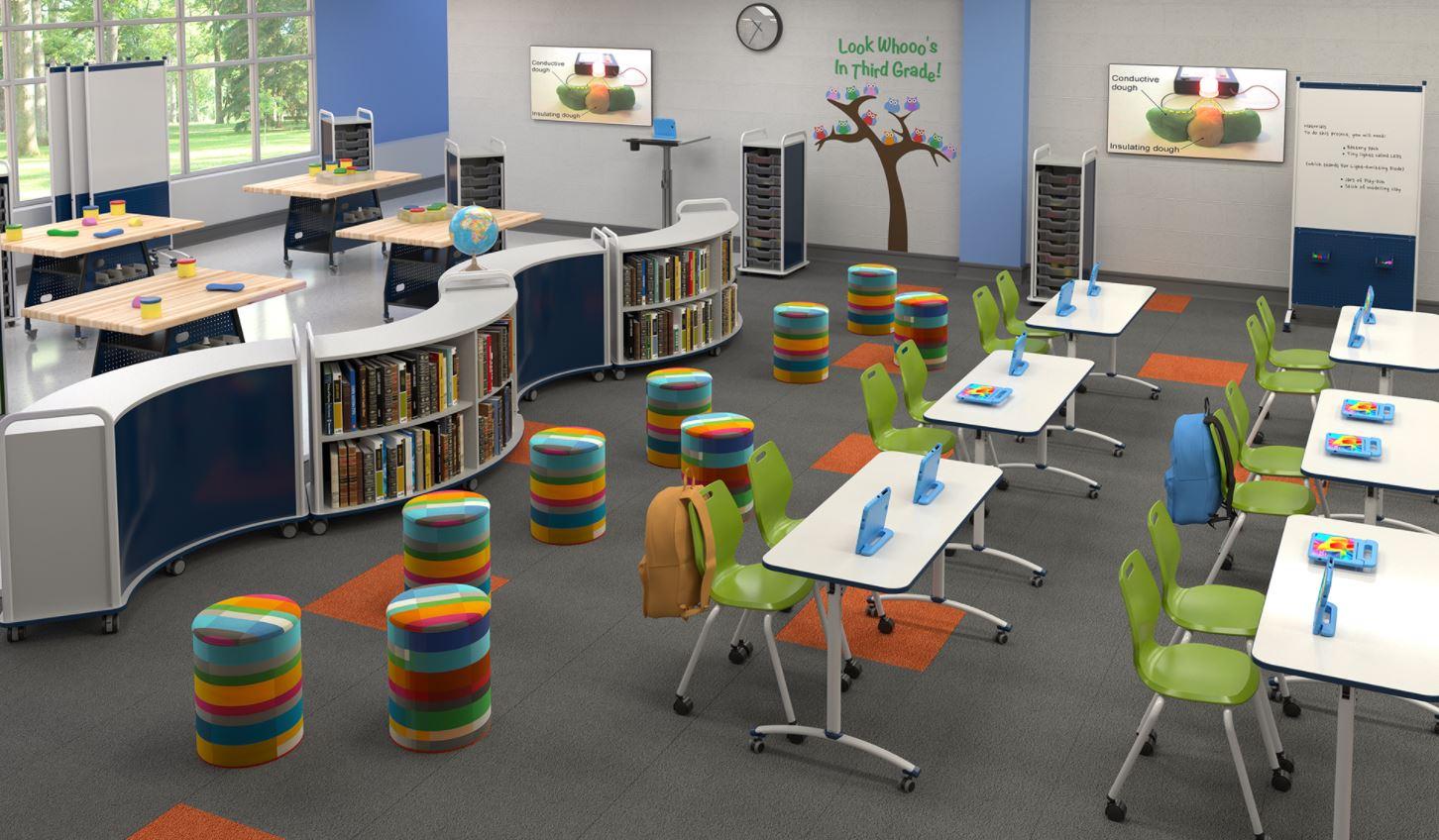 Thiết kế thi công nội thất trường học