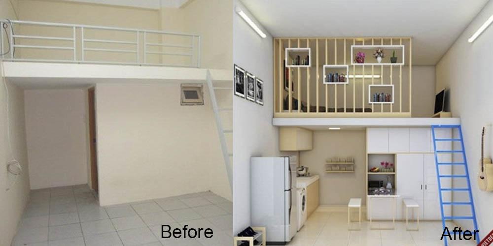 Thiết kế thi công phòng cho thuê