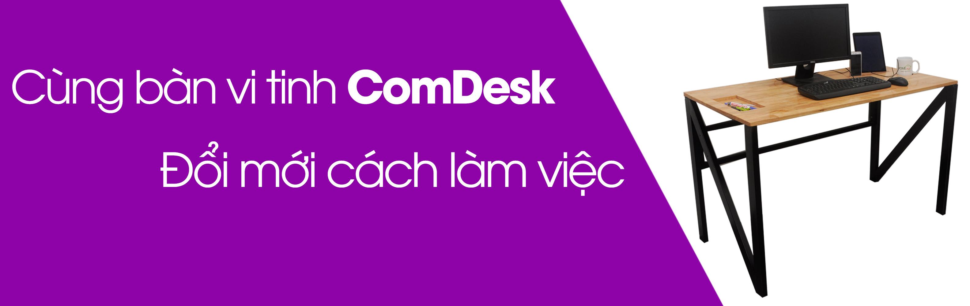 Bàn để máy tính hiện đại ComDesk