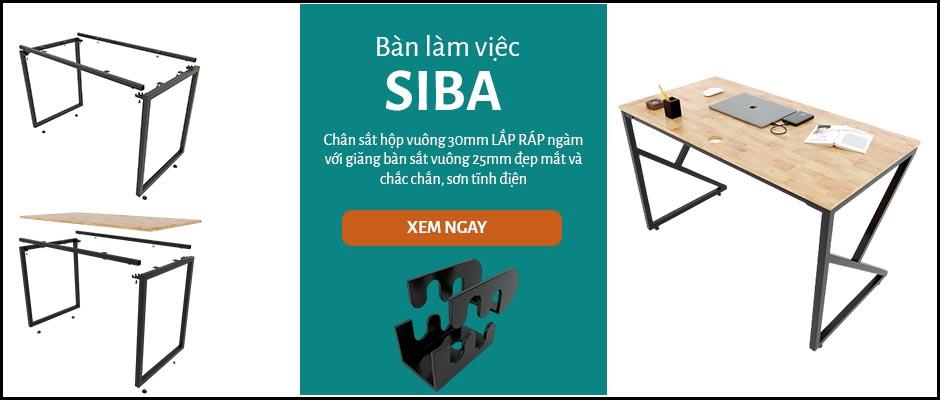 Bàn làm việc Siba