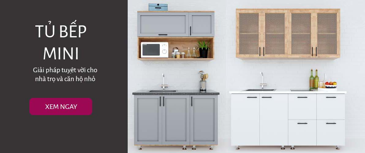 Tủ bếp mini