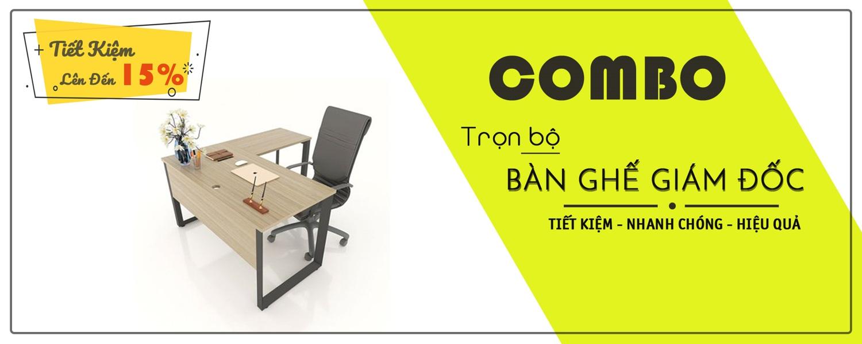 bộ bàn ghế giám đốc chất lượng