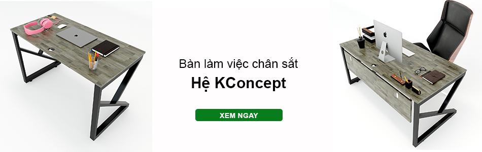 bàn làm việc hệ Kconcept