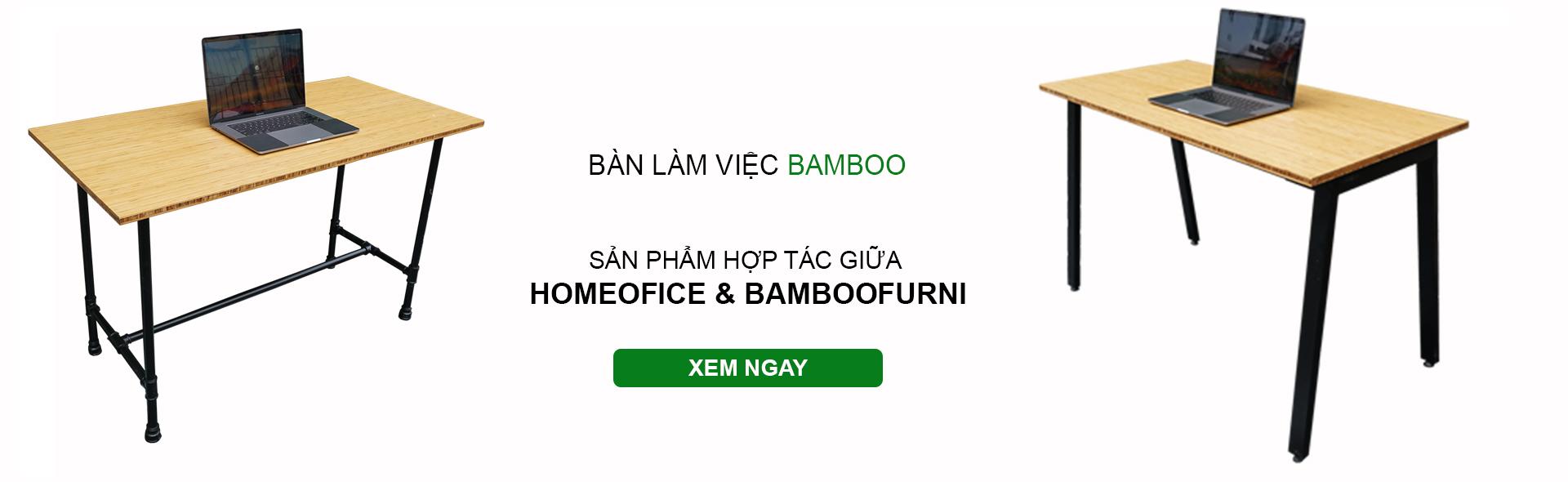 Hợp tác Homeoffice và bamboo