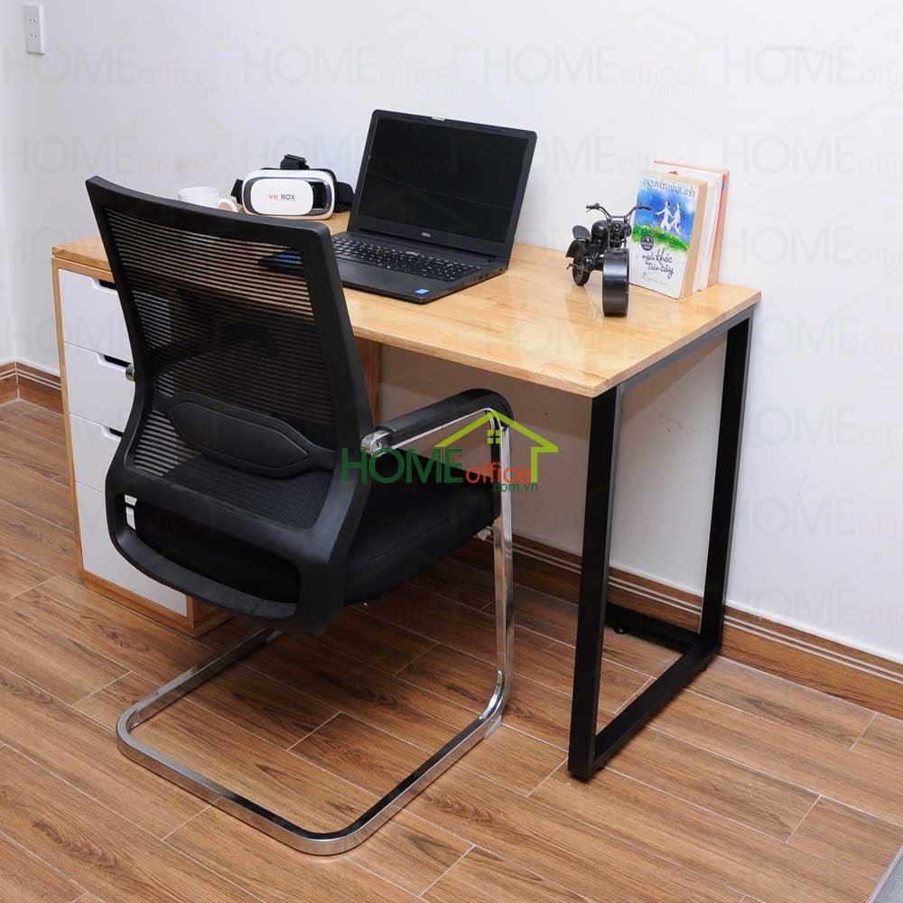 Bàn kết hợp chân tủ ghế văn phòng